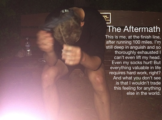 What I Learned From Running 100 Miles…