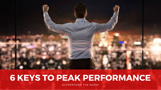 6 Ways to Peak Performance