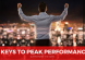 6 Ways to Peak Performance
