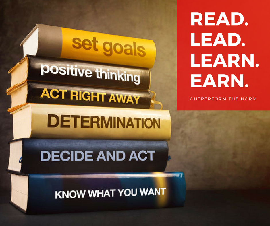 Read lead learn earn