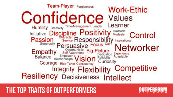The Top 10 Traits of Outperformers