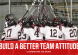 Build a Better Team Attitude