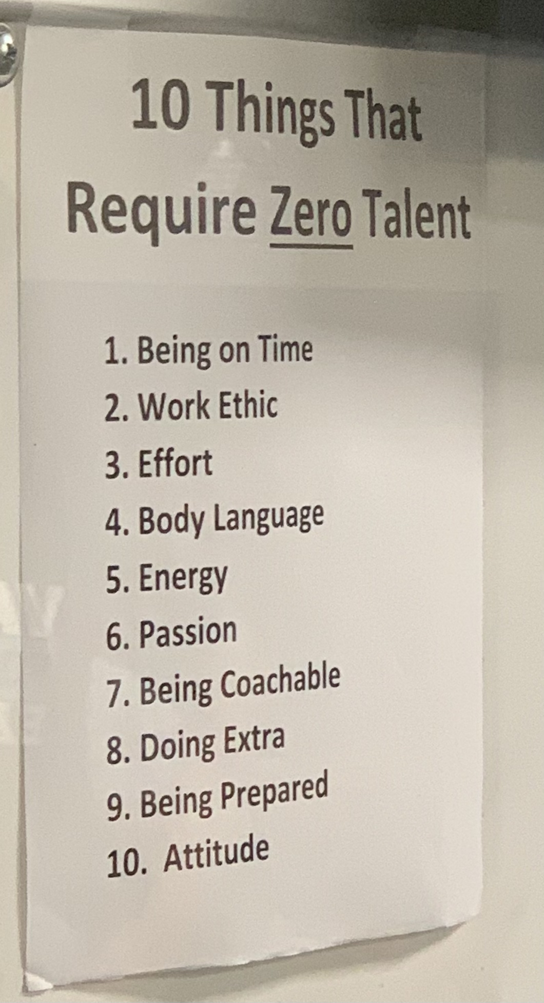 10 Things That Require ZERO Talent…